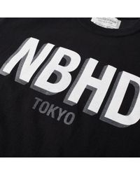 Neighborhood Black Nbhd Tokyo Tee for men