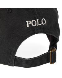 Polo Ralph Lauren - Black Classic Baseball Cap for Men - Lyst