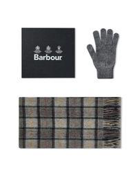 75670fd4d Men's Gray Scarf & Glove Gift Box