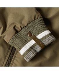 Maison Margiela Green 10 Matte Bomber Jacket for men