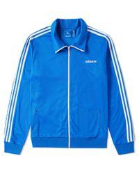 Adidas Blue Beckenbauer Track Top for men