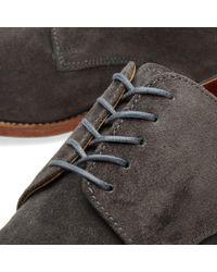 GRENSON - Gray Finlay Derby Shoe for Men - Lyst