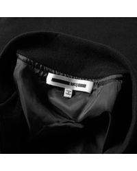 McQ Alexander McQueen Black Mcq By Alexander Mcqueen Jersey Ma-1 Jacket for men