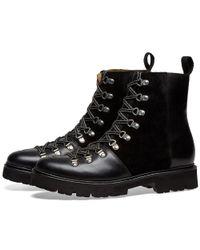 GRENSON Black Brady Boot for men