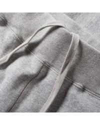 A Bathing Ape Gray College Slim Sweat Pant for men