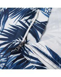 "Onia Blue Calder 7.5"" Brushed Palm Swim Short for men"