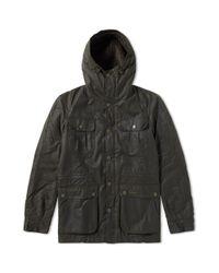 Barbour Green Brindle Jacket for men