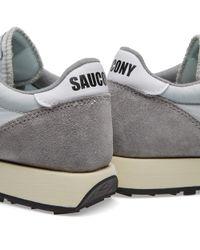 Saucony Gray Jazz Original Vintage for men