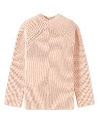 Acne Pink Katan Heavy Rib Knit for men