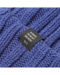 Bedwin And The Heartbreakers Blue Mullen Watch Cap for men