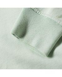 Stone Island Green Garment Dyed Crew Sweat for men