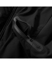 C P Company Black Pro-tek Zip Up Jacket for men