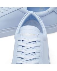 Givenchy - Blue Classic Low Sneaker - Lyst