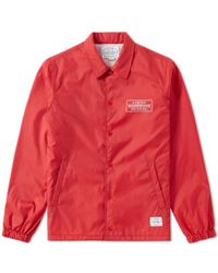 Neighborhood Red C.w.p. Brooks Jacket for men