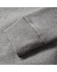 Calvin Klein Gray Ck Reissue Embroidered Crew Sweat for men
