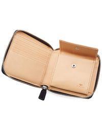 Il Bussetto Blue Bi-fold Zip Wallet for men