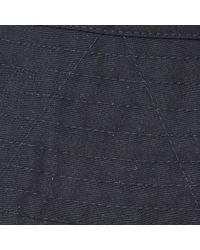 Engineered Garments Blue Bucket Hat for men