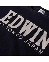 Edwin Black Logo Type 2 Tee for men