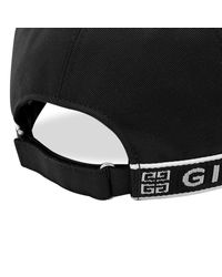 Givenchy Black Curved Cap for men