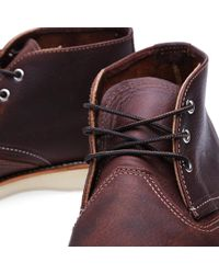 Red Wing Brown 3141 Heritage Work Chukka for men