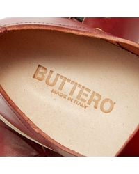 Buttero Brown Tanino Low Sneaker for men