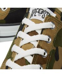 A Bathing Ape Green 1st Camo Ape Sta Low