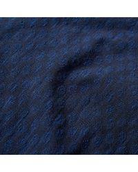 Paul Smith Blue Woven Dot Tee for men