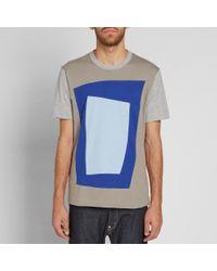 Comme des Garçons Gray Comme Des Garcons Shirt X Candida Alvarez Square Tee for men