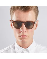 Dick Moby Brown Lhr Sunglasses for men