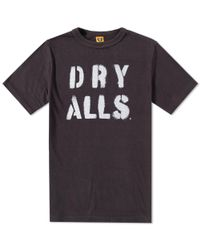 Human Made Black Dry Alls Tee for men