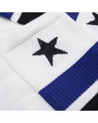 Givenchy - White Short Star Sports Sock for Men - Lyst
