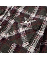 Neighborhood Green Cabella Check Shirt for men