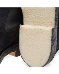 Tricker's Black End. X Tricker's Crepe Sole Stephen Chelsea Boot