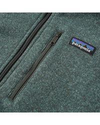 Patagonia Green Better Sweater 1/4 Zip Jacket for men