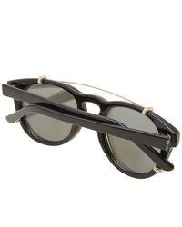 Han Kjobenhavn Black Han Timeless Clip-on Sunglasses for men