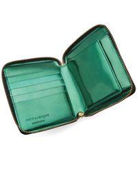 Comme des Garçons Green Comme Des Garcons Sa2100pm Patchwork Metal Wallet
