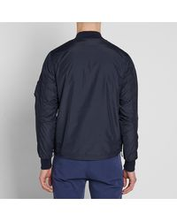 Universal Works Blue Ma-1 Bomber Jacket - End. Exclusive for men