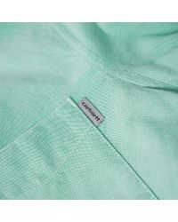 Carhartt WIP Green Carhartt Button Down Pocket Shirt for men