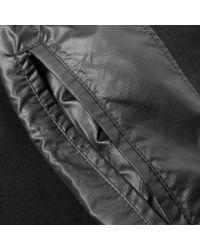 MR. COMPLETELY Black Windbreaker Combo Short for men