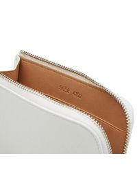 Common Projects White Zipper Wallet for men