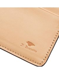 Il Bussetto Red Bi-fold Wallet for men