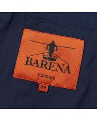 Barena Blue Vento Blazer for men
