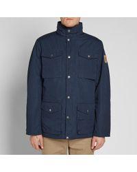 Fjallraven Blue Räven Padded Jacket for men