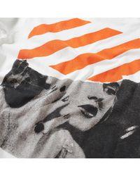 Off-White c/o Virgil Abloh - White Photocopy Long Sleeve Tee for Men - Lyst