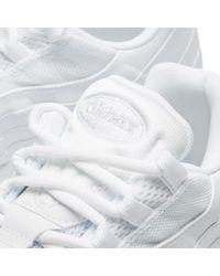 Nike White W Air Max 95 for men