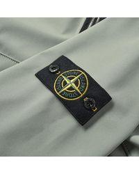 Stone Island Green Soft Shell R Fixed Hood Jacket for men