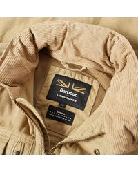 Barbour Natural X Land Rover Hilbre Jacket for men