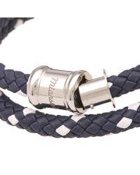 Miansai - Blue Leather Casing Bracelet - Lyst