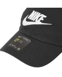 Nike Black H86 Futura Cap for men