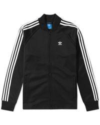 Adidas Black Adc Fashion Track Top for men